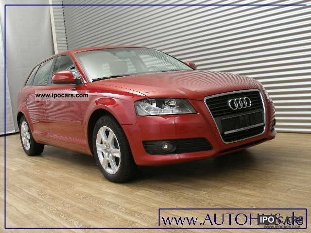 2010 audi a3 sportback 1 6 tdi s tronic navi attraction car photo and specs. Black Bedroom Furniture Sets. Home Design Ideas