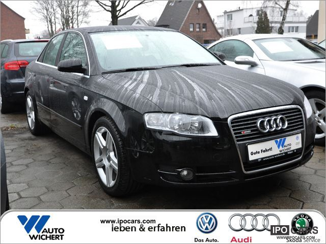 2007 audi a4 saloon s line 2 0 tdi 6 speed navi car photo and specs. Black Bedroom Furniture Sets. Home Design Ideas