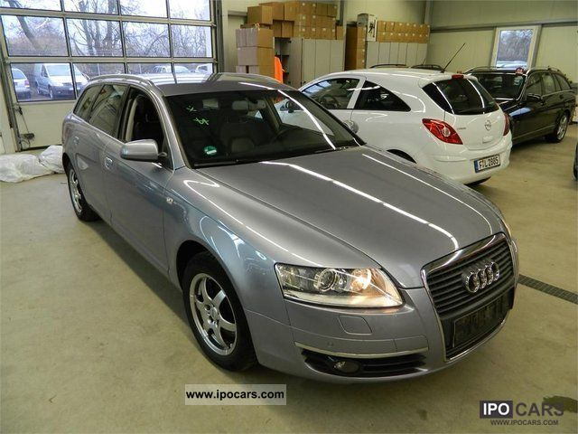 2007 audi a6 avant 2 4 car photo and specs. Black Bedroom Furniture Sets. Home Design Ideas