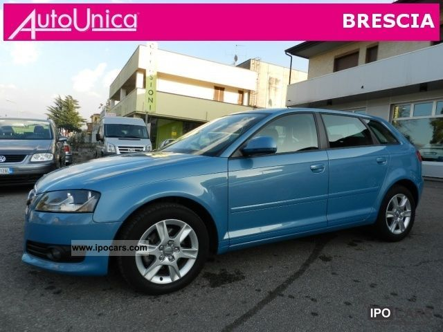2009 audi a3 sportback 2 0 tdi euro 5 restyling ufficiale car photo and specs. Black Bedroom Furniture Sets. Home Design Ideas