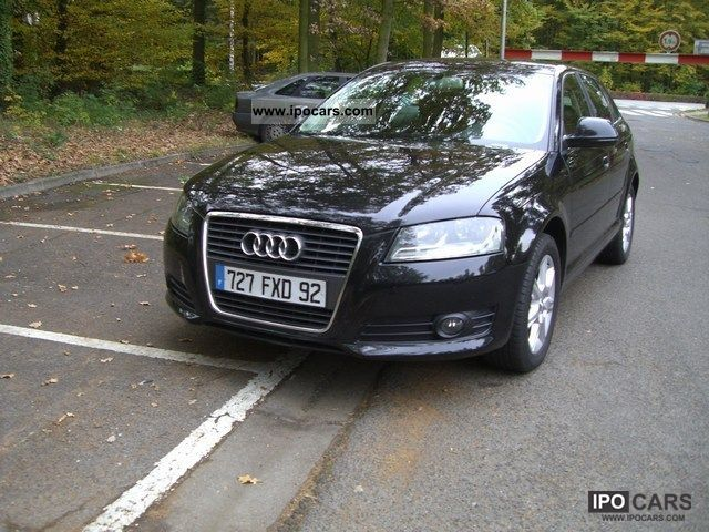2009 Audi  A3 Sportback 1.9 TDI 105 DPF environment Limousine Used vehicle photo