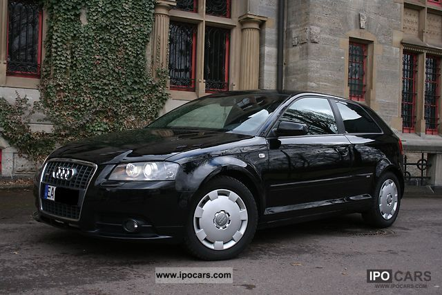 2006 Audi  A3 2.0 TFSI S line sports package plus 1.Hand! Private Limousine Used vehicle photo