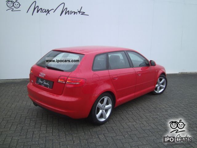 2009 audi a3 a3 sportback 1 9 tdi s line climatronic pdc car photo and specs. Black Bedroom Furniture Sets. Home Design Ideas
