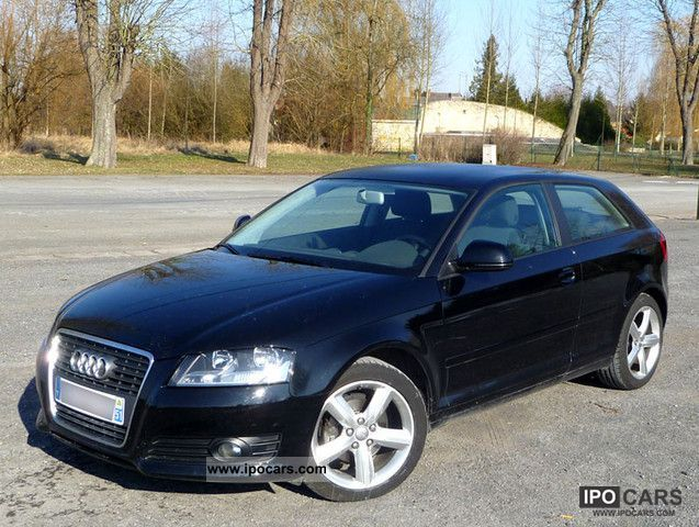 2009 audi a3 ii 2 1 9 tdi 105 dpf car photo and specs. Black Bedroom Furniture Sets. Home Design Ideas