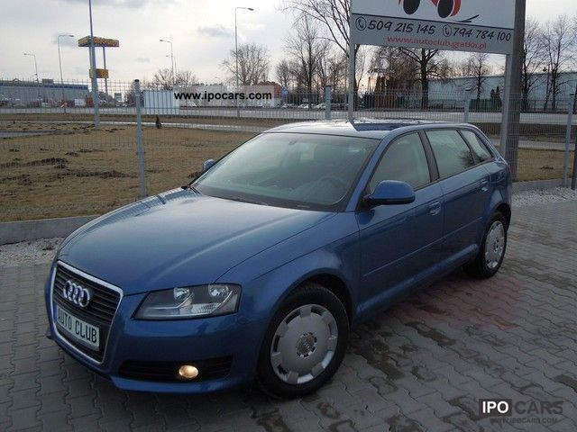2009 audi a3 2 0 tdi 140 km po lifcie air tronic car photo and specs. Black Bedroom Furniture Sets. Home Design Ideas