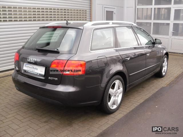 2007 audi a4 avant 2 0 tdi dpf 6 speed car photo and specs. Black Bedroom Furniture Sets. Home Design Ideas