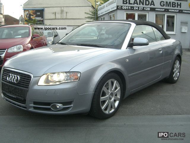 2006 audi a4 cabriolet 1 8 t s line car photo and specs. Black Bedroom Furniture Sets. Home Design Ideas