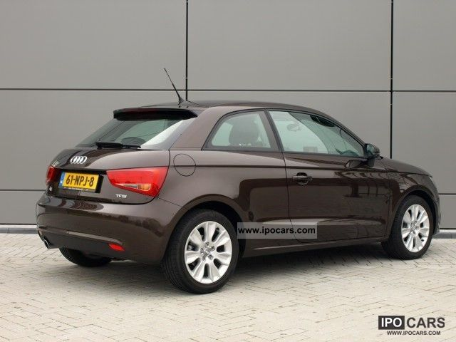 2010 audi a1 1 2 tfsi ambition 86pk pro line business car photo and specs. Black Bedroom Furniture Sets. Home Design Ideas