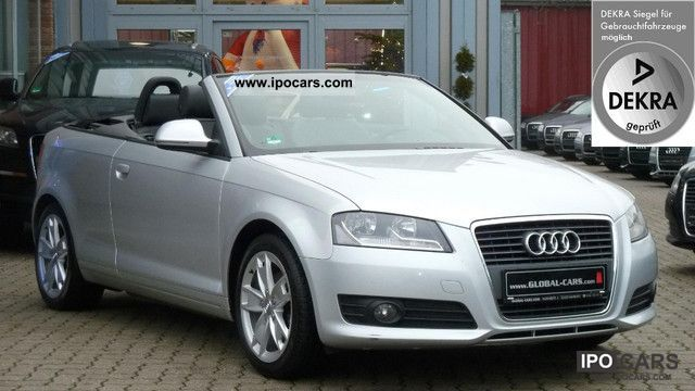 2008 Audi  A3 1.8 TFSI AMBITION CABRIOLET / S-TRONIC / LEATHER Cabrio / roadster Used vehicle photo