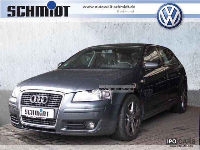 2007 audi a3 sportback 1 9 tdi s line navi air car photo and specs. Black Bedroom Furniture Sets. Home Design Ideas