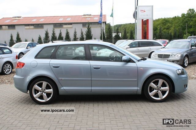 2008 audi a3 sportback 2 0 tdi s line sport package car photo and specs. Black Bedroom Furniture Sets. Home Design Ideas