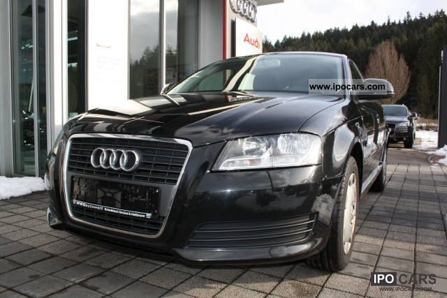 2010 Audi  A3 Sportback 1.6 TDI 77 (105) kW (PS) 5 Limousine Used vehicle photo
