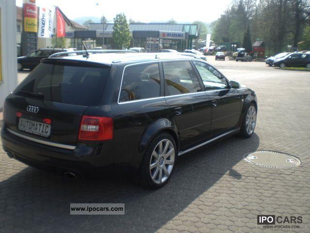 2003 Audi Tiptronic Quattro Avant Rs6 4 2 Car Photo And Specs