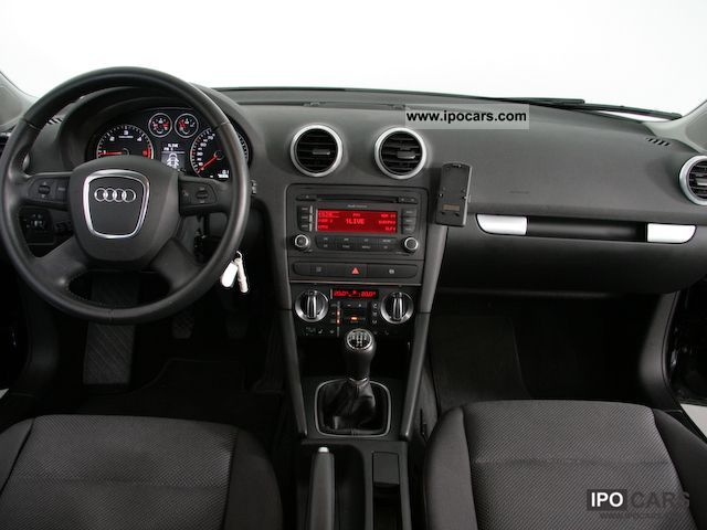 2008 audi a3 sportback 1 9 tdi dpf air car photo and specs. Black Bedroom Furniture Sets. Home Design Ideas