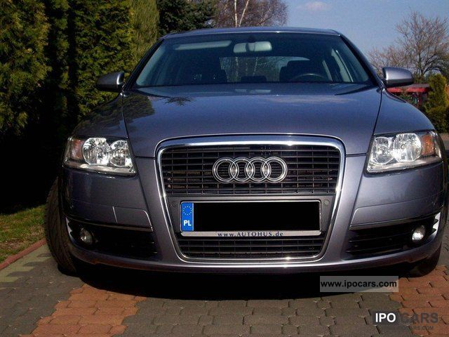2007 audi a6 car photo and specs. Black Bedroom Furniture Sets. Home Design Ideas