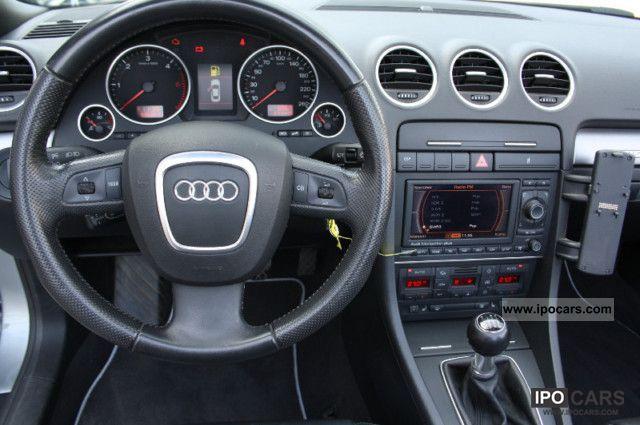 2006 Audi A4 Cabriolet 3 0 Tdi Quattro Leather Navi