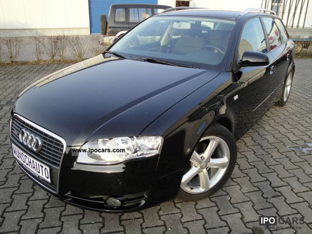 2008 audi a4 avant 2 0 tdi dpf s line wheels with winter car photo and specs. Black Bedroom Furniture Sets. Home Design Ideas