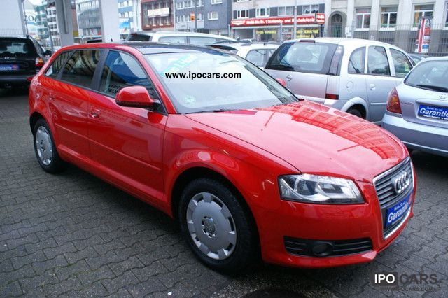 2009 Audi  A3 1.4 TFSI Sportback Open Sky Estate Car Used vehicle photo