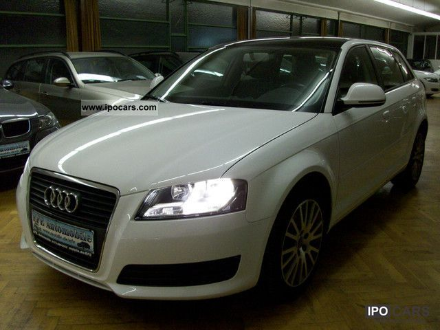 2008 audi a3 2 0 tdi panorama navi plus mmi alu sportback car photo and specs. Black Bedroom Furniture Sets. Home Design Ideas