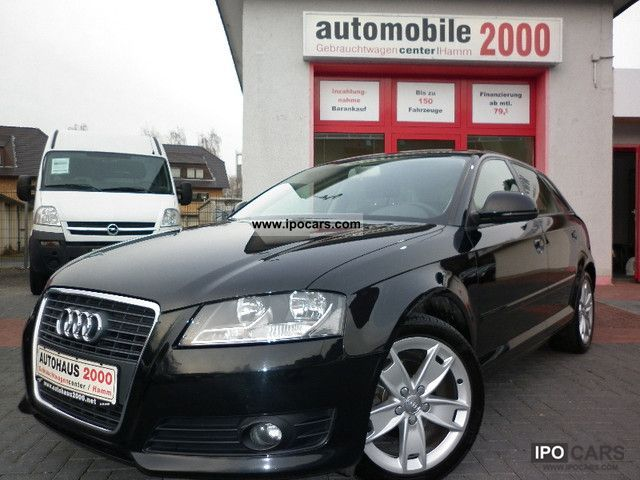 2009 Audi A3 1.9 TDI Sportback Ambition   Facelift   Navi Plus - Car ... a4671087fda