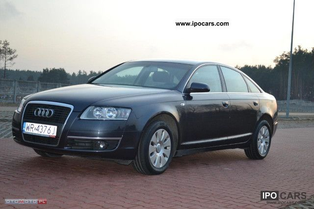2007 audi a6 car z gwarancja car photo and specs. Black Bedroom Furniture Sets. Home Design Ideas