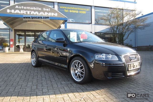 2007 Audi  A3 Sport Optics-inch lowering +17 Limousine Used vehicle photo