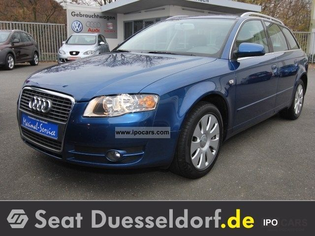 2006 Audi  A4 2.0 L 96 kW (131 hp) Avant - air, power, Estate Car Used vehicle photo