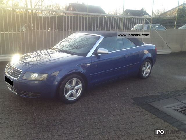 Audi  A4 S4 Cabrio 2.4 V6 LPG gas system TUV New TOP 2002 Liquefied Petroleum Gas Cars (LPG, GPL, propane) photo