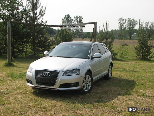 2008 Audi  A3 2.0 TFSI Sportback Estate Car Used vehicle photo