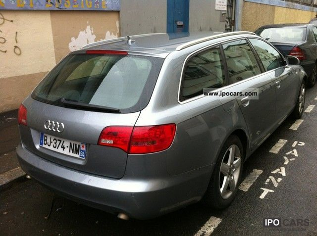 2006 audi audi a6 2 7 tdi break car photo and specs. Black Bedroom Furniture Sets. Home Design Ideas