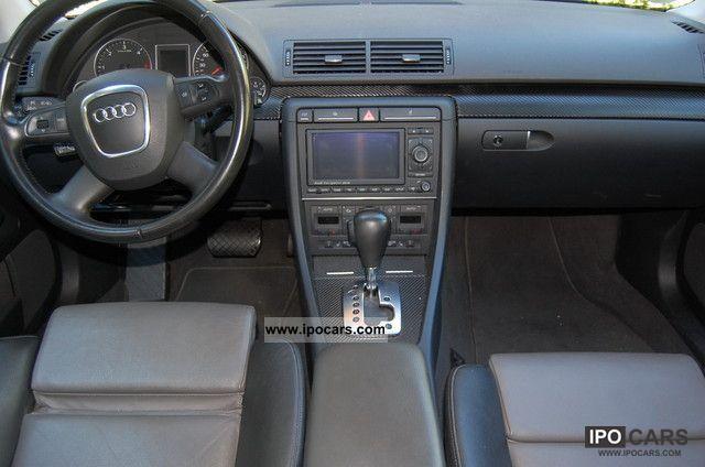 2007 audi a4 b7 2 0tdi dpf auto navi recaro climatron car photo and specs. Black Bedroom Furniture Sets. Home Design Ideas