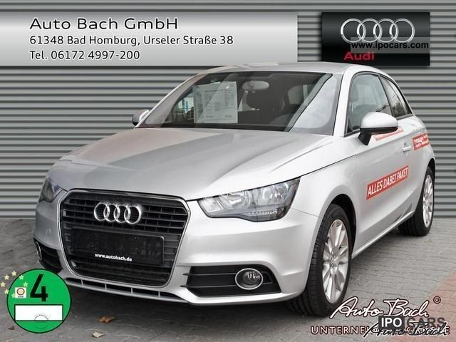 2010 Audi  A1 1.6 TDI 105 bhp Attraction Concert FIS Limousine Used vehicle photo