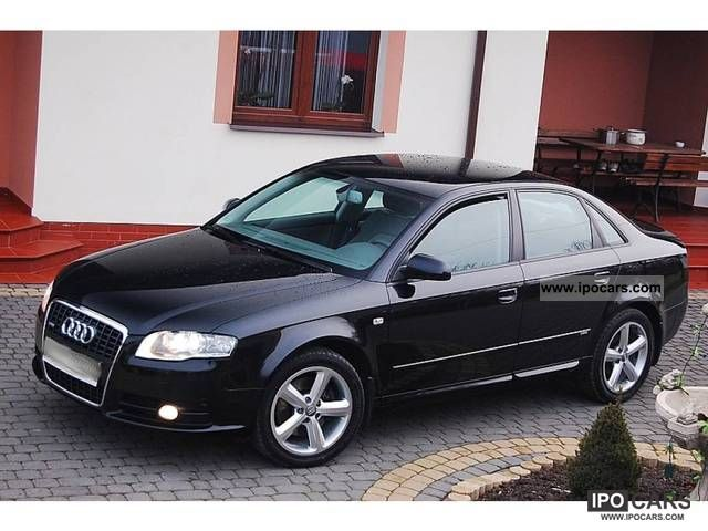 2007 audi a4 s line 2 0 tdi quattro saloon car photo and specs. Black Bedroom Furniture Sets. Home Design Ideas