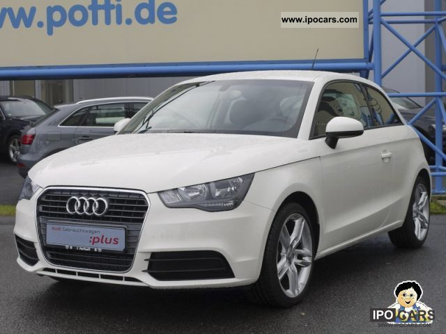 2011 Audi  A1 Attraction 1.2 TFSi comfortable Drive / 17 inch Limousine Demonstration Vehicle photo