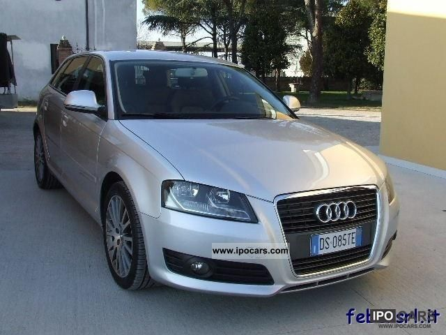 2008 audi a3 2 0 tdi jc fap s tr ambition restyling car photo and specs. Black Bedroom Furniture Sets. Home Design Ideas