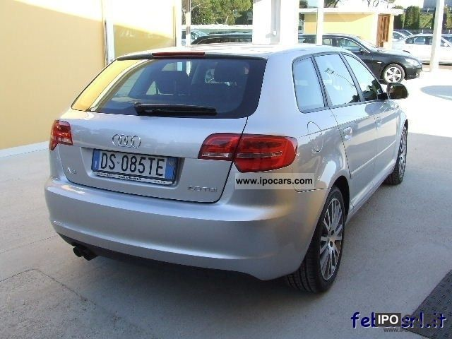 2008 audi a3 2 0 tdi jc fap s tr ambition restyling car. Black Bedroom Furniture Sets. Home Design Ideas