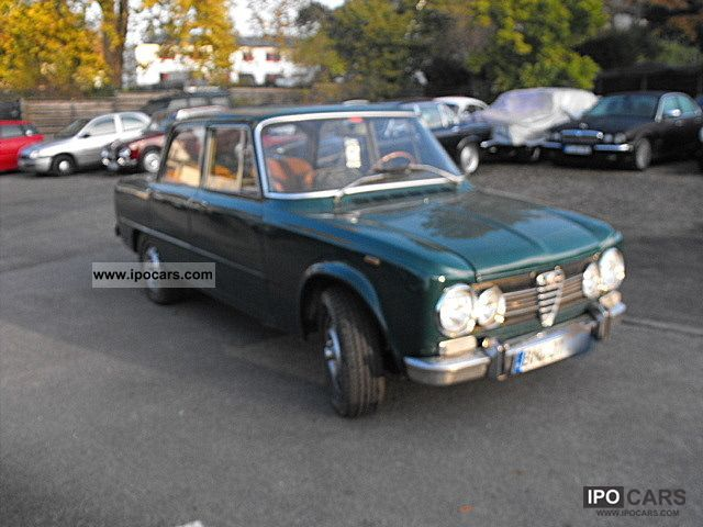 1972 Alfa Romeo  Giulia Limousine Used vehicle photo