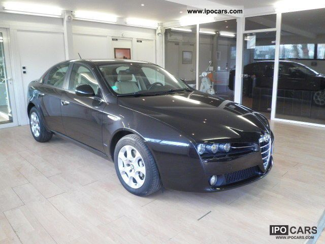 2009 alfa romeo jtdm 150 159 1 9 distinctive qtronic car photo and specs. Black Bedroom Furniture Sets. Home Design Ideas