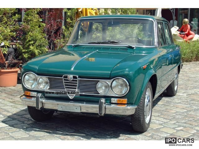 Alfa Romeo  Giulia 1600 Super 1966 Vintage, Classic and Old Cars photo