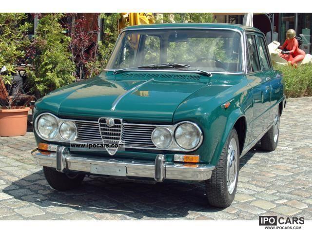 1966 Alfa Romeo  Giulia 1600 Super Limousine Classic Vehicle photo