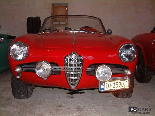 1961 Alfa Romeo  Giulietta Cabrio / roadster Used vehicle photo