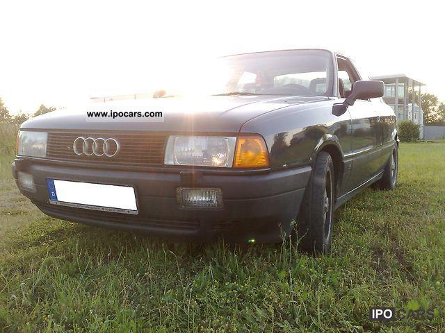 1987 Audi  80 1.9 E Limousine Used vehicle photo