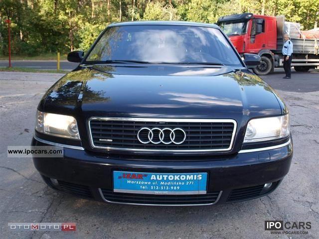 2002 Audi  A8 DIESEL FULL OPCJA! Limousine Used vehicle photo