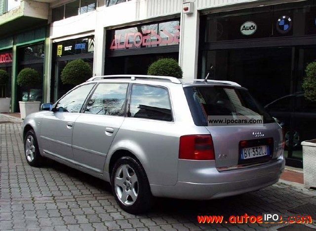 2001 audi a6 2 5 v6 cat tdi 180 cv av tip ad e 4x4 car photo and specs. Black Bedroom Furniture Sets. Home Design Ideas
