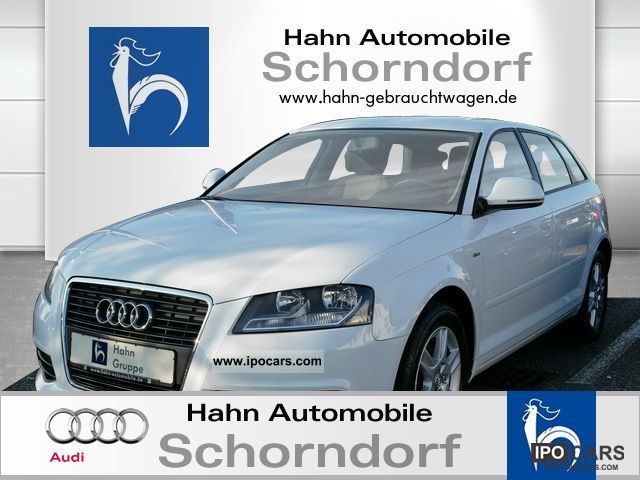 2009 Audi  A3 Sportback 1.6 TDI S-line exterior package Limousine Used vehicle photo