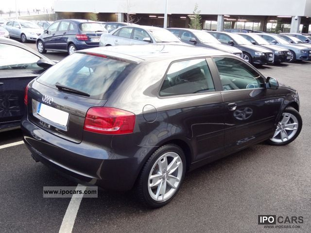 2009 audi a3 ii 3 2 0 tdi 140 dpf ambition car photo and specs. Black Bedroom Furniture Sets. Home Design Ideas