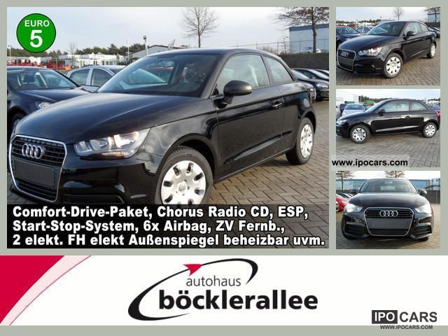 2012 Audi  A1 Attraction 1.2 TFSi Klimatic Limousine Used vehicle photo