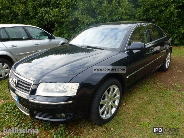 Audi  A8 4.2 V8 FSI QUATTRO TIPTRONIC 2003 Liquefied Petroleum Gas Cars (LPG, GPL, propane) photo