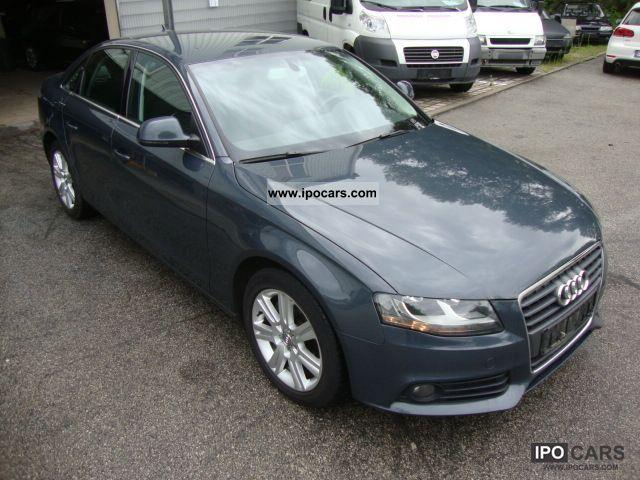 2008 Audi  A4 2.7 TDI Sedan EURO 4 + net € 13,750! Limousine Used vehicle photo