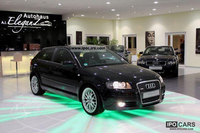 2006 Audi  A3 2.0 FSI S Line Auto * AIR * LEATHER * ALU 18 \ Limousine Used vehicle photo